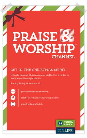 Christmas Radio Print Ad