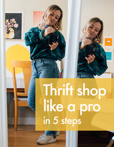 Thrift shop like a pro with this process