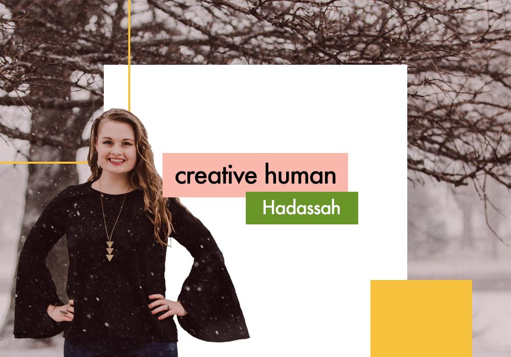 creative human: Hadassah