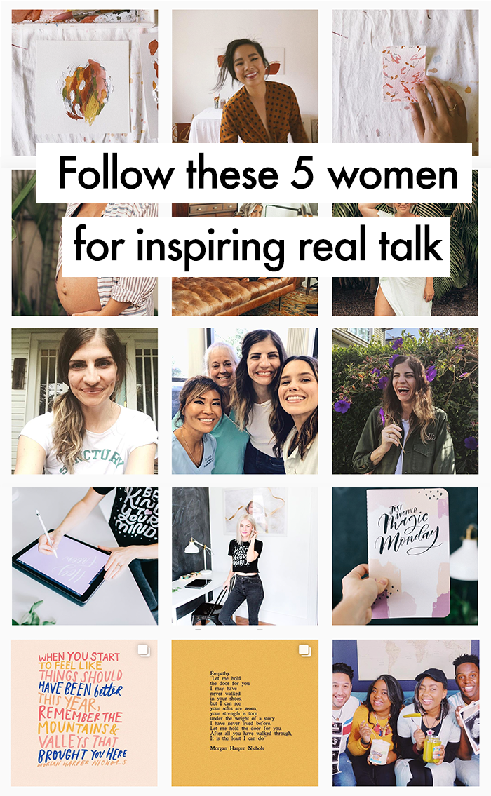 Follow these 5 women for inspiring real talk