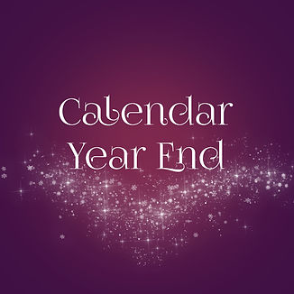 Calendar Year End