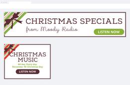 Christmas Radio Digital Ads