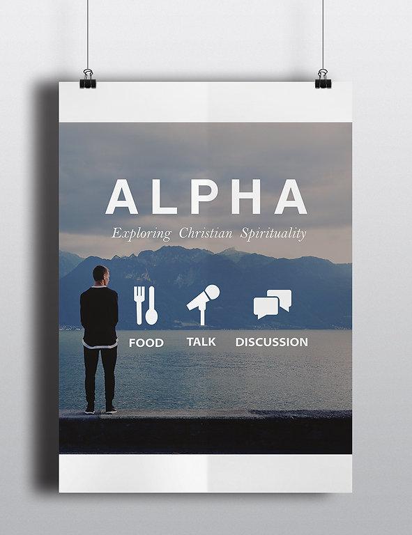 Alpha Poster Design