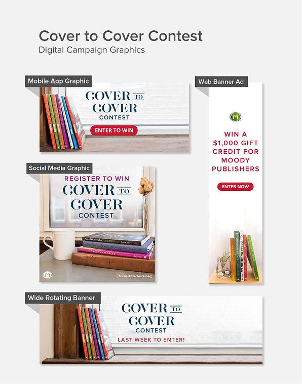 Digital campaign graphics