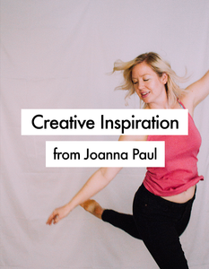 Creative Inspiration from Joanna Paul