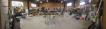 Atelier de fabricaton Evian pour le menuiseries PVC et menuiseries Aluminium