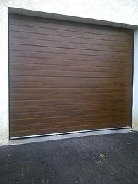 Porte de garage sectionnelle à bons-en-chablais