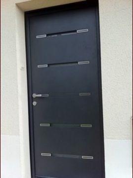 devis porte d'entrée aluminium evian