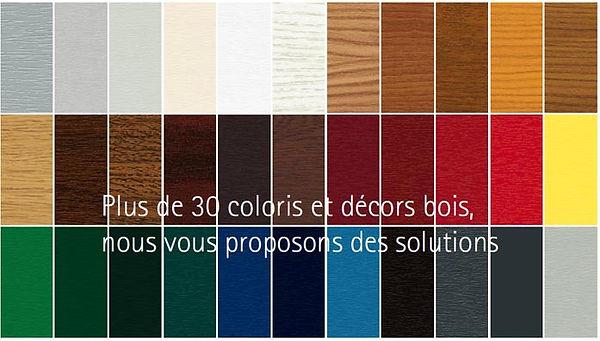 Choix de couleurs pour des fenêtre en PVC plaxées en haute savoie 74