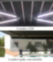 Store de terrasse électrique lumineuse thonon