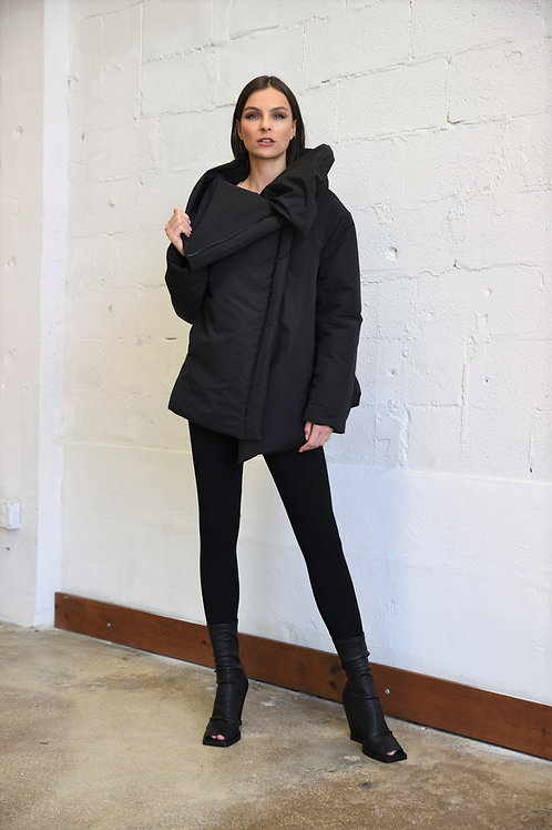 Zip padded jacket