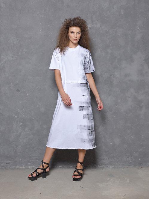 Strokes T-shirt dress