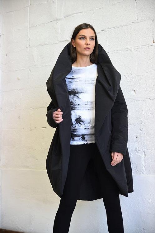 Hoodie padded coat