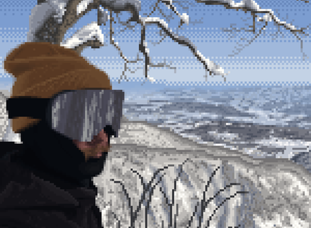 Drawing pixel art just for fun
