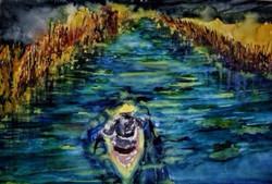 Drifting souls along the Ho Chi Mi...