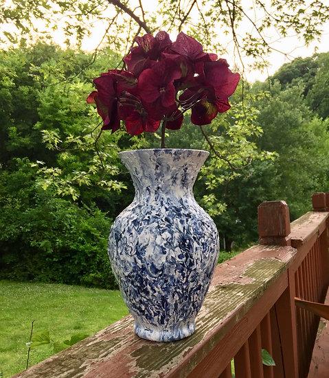 Acrylic on Vase