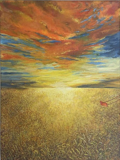 Resilience 7 (orange sky) 2020