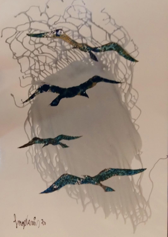 DESSINS SABLES - Uccelli 3