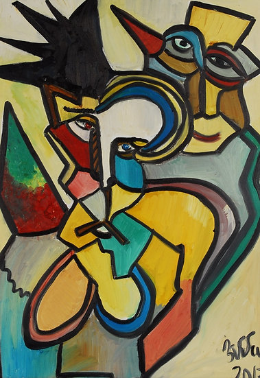 Tribute to Picasso