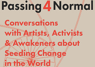 Passing4Normal Podcast Graphic Conversations with Artists, Authors, Activists and Awakeners about Seeding Change in the World