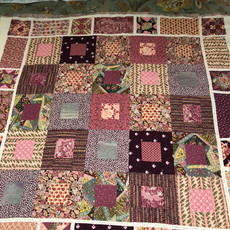 Quilt for brand new friend, Isabella.