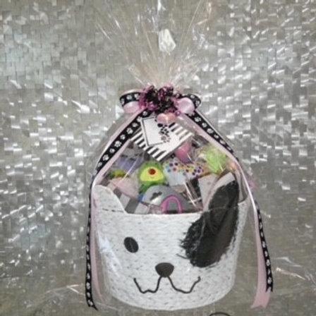 Puppy Gift Basket