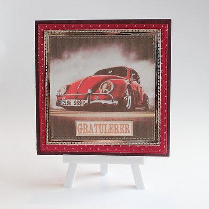 VW-gratulasjonskort