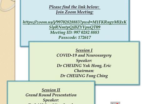 Monthly academic meeting 8/2020