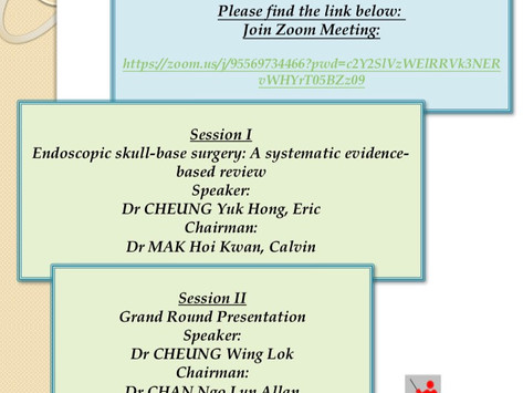 Monthly Academic Meeting 5/2021