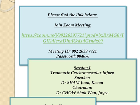 Monthly Academic Meeting 5/2020