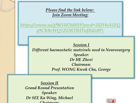 Monthly Academic Meeting 11/2020