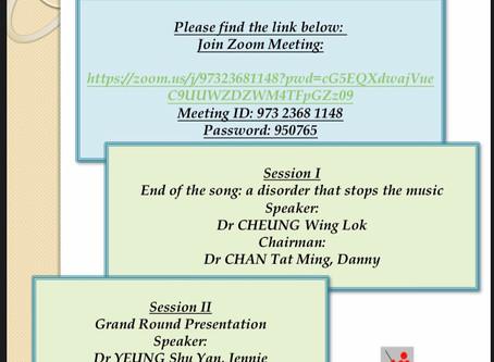Monthly academic meeting 7/2020