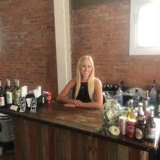 Bartender & Bar Setup