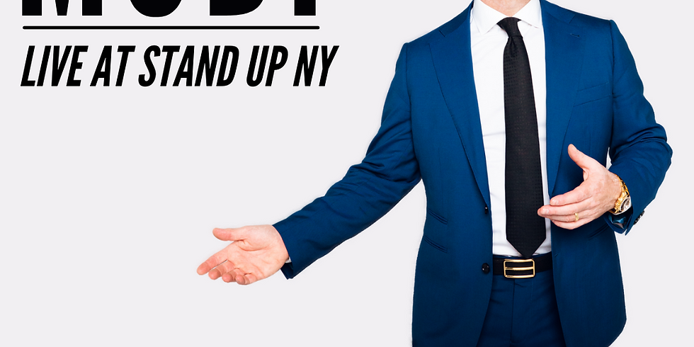 Modi at Stand Up NY (7pm & 9pm shows)