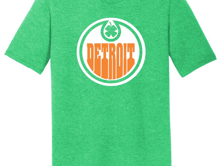 Behind the Design: Old School Logo Inspires 2021 Detroit St. Patty's Day Tee