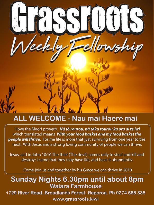 Grassroots weekly fellowship new web pos