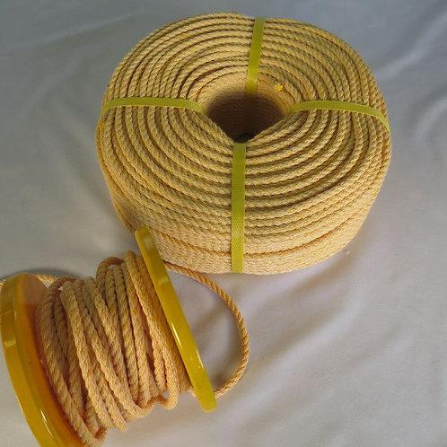 ハイクレロープ黄色  太さ 6mm