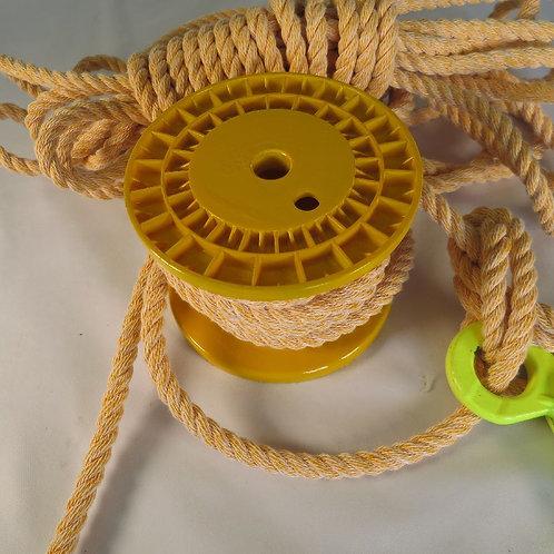 ハイクレロープ黄色  太さ 12mm