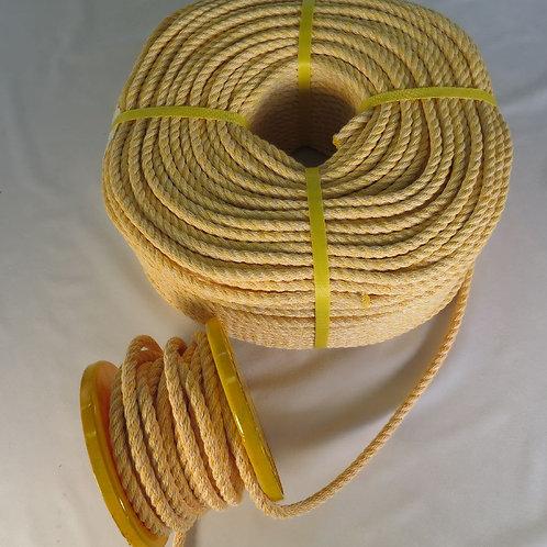 ハイクレロープ黄色  太さ 9mm