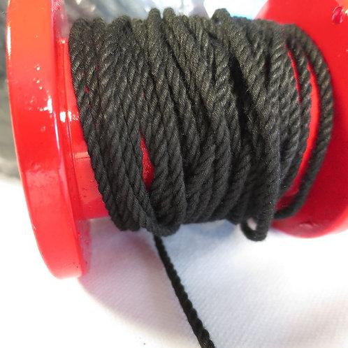 クレモナロープ 黒色 太さ 3mm
