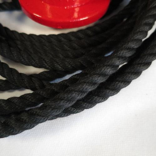 クレモナロープ 黒色 太さ10mm
