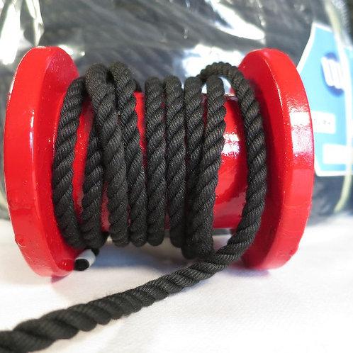 クレモナロープ 黒色 太さ 6mm
