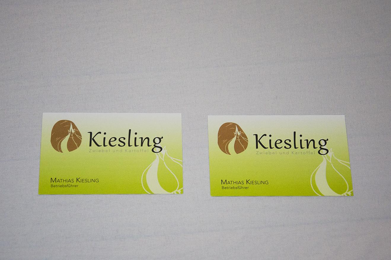 Visitenkarten Kiesling
