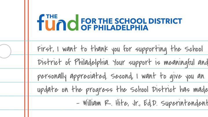 Letter from Superintendent Hite
