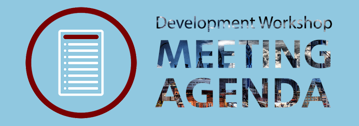 June 21: Workshop Meeting Agenda