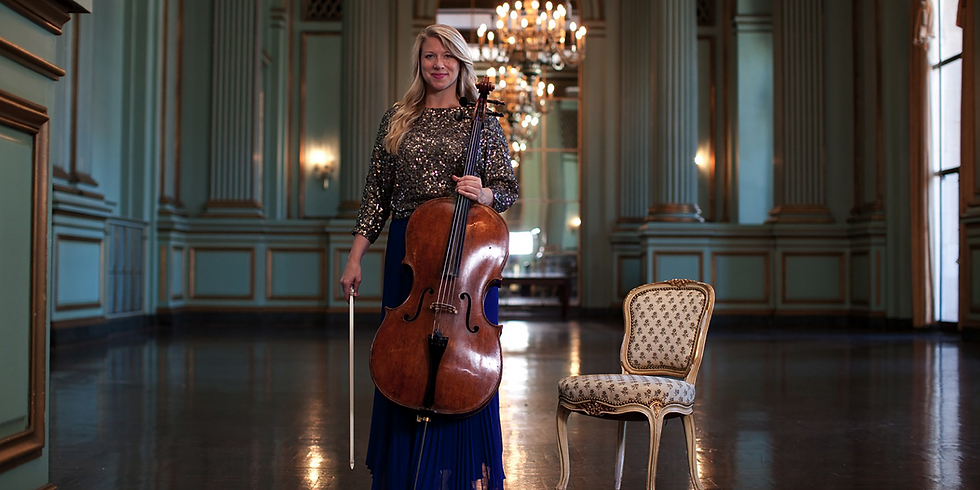 Jennifer Kloetzel, cello with Robert Koenig, piano