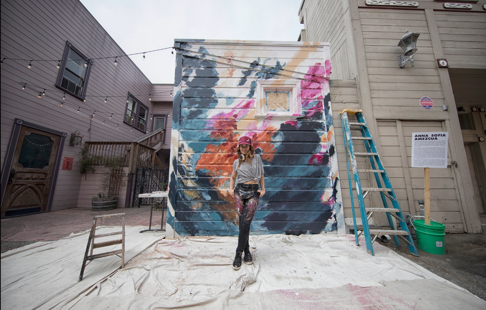 Eureka Street Art Festival   Artist: Anna Sofia Amezcua