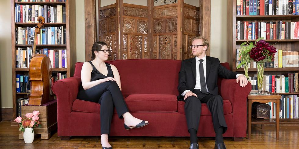 Ruth Marshall, cello & Garret Ross, piano   HSU Guest Artist Series