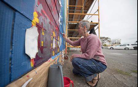 Eureka Street Art Festival | Spin Mural