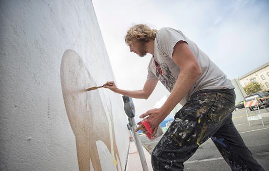 Eureka Street Art Festival   Shanty Hoedown by Dave Van Patten